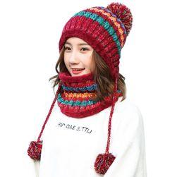 Dámská čepice s nákrčníkem Tiffany