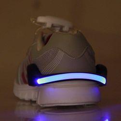 Bezpieczny pasek na buty z diodą LED