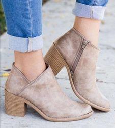 Dámské boty na podpatku Zella