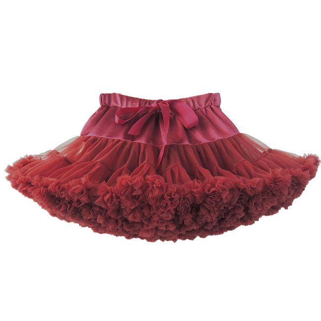 Tylová sukně - 4 barvy 1
