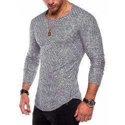 Pánské tričko s dlouhým rukávem - 6 barev, 6 velikostí