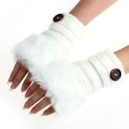 Damskie rękawiczki bez palców DR4578
