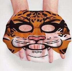Nawilżająca maseczka na twarz w postaci zwierząt - 4 warianty