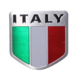 Алуминиев стикер за автомобил - Италия