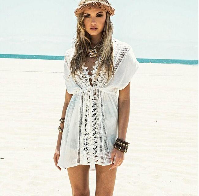 Plażowa sukienka BD7 1