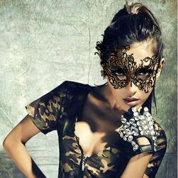 Zavodljiva maska - crna