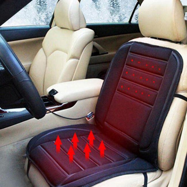 Vyhřívaná autosedačka s nastavitelnou teplotou 1