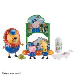 Peppa Pig set Živalski vrt 3 figurice z dodatki RZ_071738