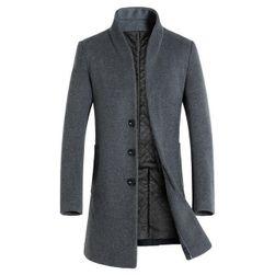 Мужское пальто Jохан Серый - Размер 7