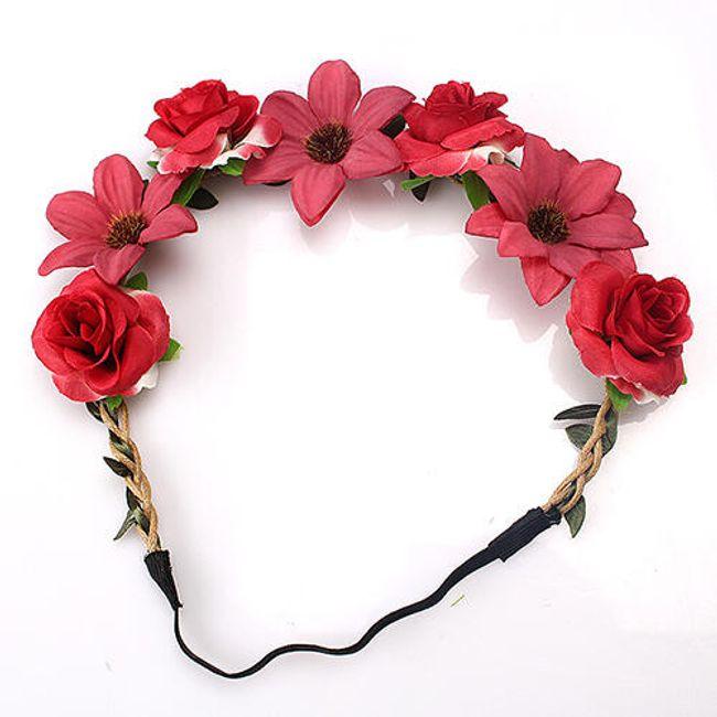 Nádherný květinový věnec - 8 variant 1