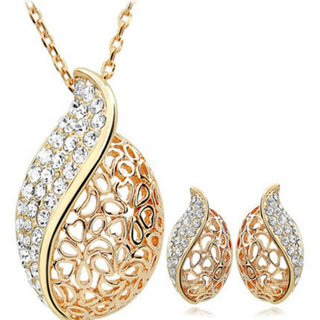 Uhani in ogrlica 1