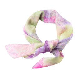 Hedvábný šátek ručně malovaný Šeřík