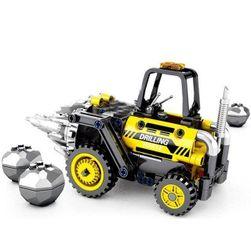 Строителен комплект за деца Bulldozer