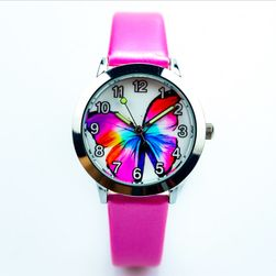 Gyerek óra színes pillangó