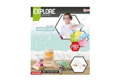 Výroba mydla vedecká hra s formičkami v krabici 27x31x5cm RM_00542705