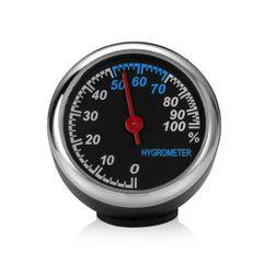Termometr, higrometr lub zegar samochodowy