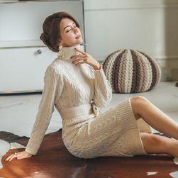 Женское вязаное платье DPS4578