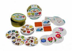 Detské hrátky pre najmenších 3v1 spoločenská hra v plechovej krabičke RM_10770644