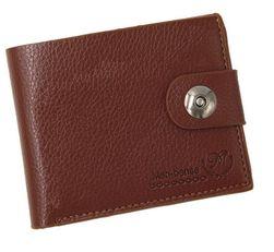 Muški novčanik na dugme