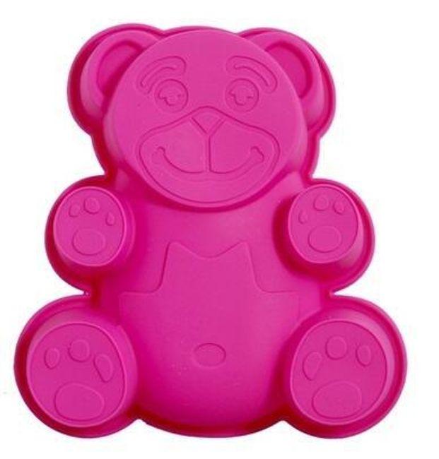 Silikonová forma ve tvaru medvídka 1