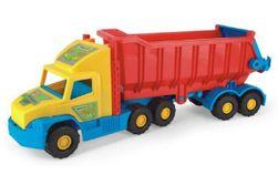 Auto Super Truck náves sklápěč plast 75cm v sieťke 12m + Wader RM_89036400
