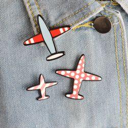 Značke sa motivom aviona - 3 kom