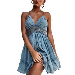 Dámské šaty s odhalenými zády - 2 barvy, 4 velikosti