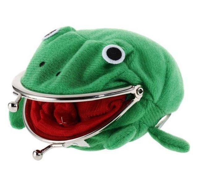 Dětská peněženka s motivem žabky 1