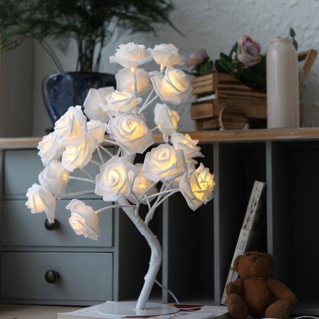 LED dekoracija Roses 1