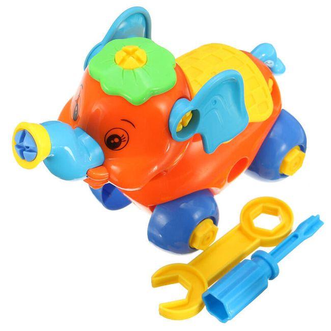 Детская игрушка конструктор- Слон 1