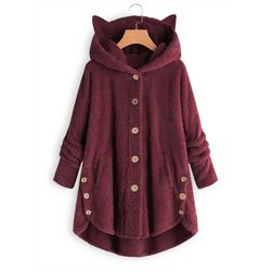 Пальто-толстовка Katry