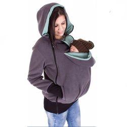 Dukserica za trudnice - džep za bebu