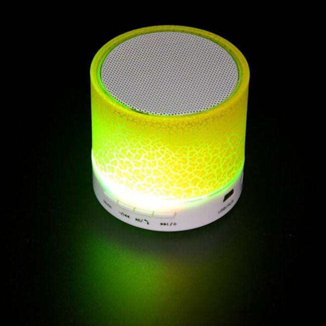 Reproduktor LED světelný - 5 barev 1