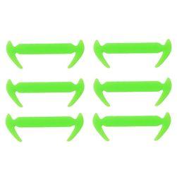 Silikonové tkaničky do bot - 12 kusů