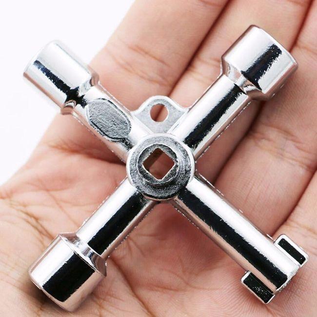 Univerzální křížový klíč k rozvodným skříním Fabio 1