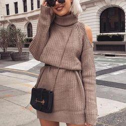 Swetrowa sukienka Allandia