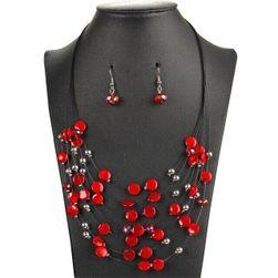 Ženska ogrlica za minđušama DN4
