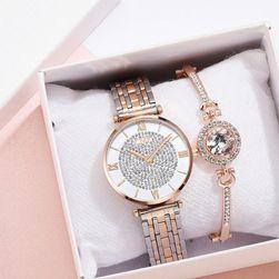 Damski zegarek i bransoletka DH54