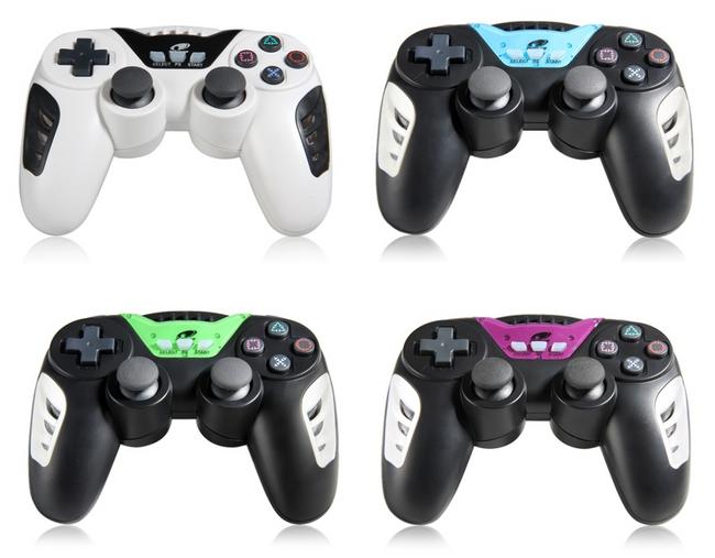 Bezdrátový DualShock ovladač pro PS3 ve více barevných provedeních 1