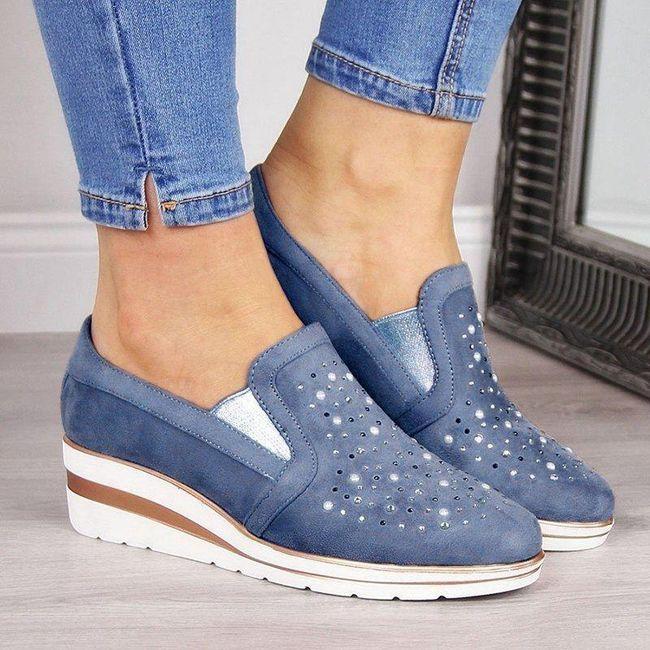 Ženske cipele na platformu Beckky 1