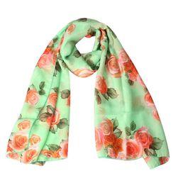 Trendy apaszka z różami