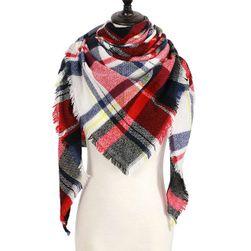 Dámský teplý šátek na zimu