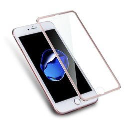 Tvrzené sklo s kovovým rámečkem pro iPhone 7 Plus