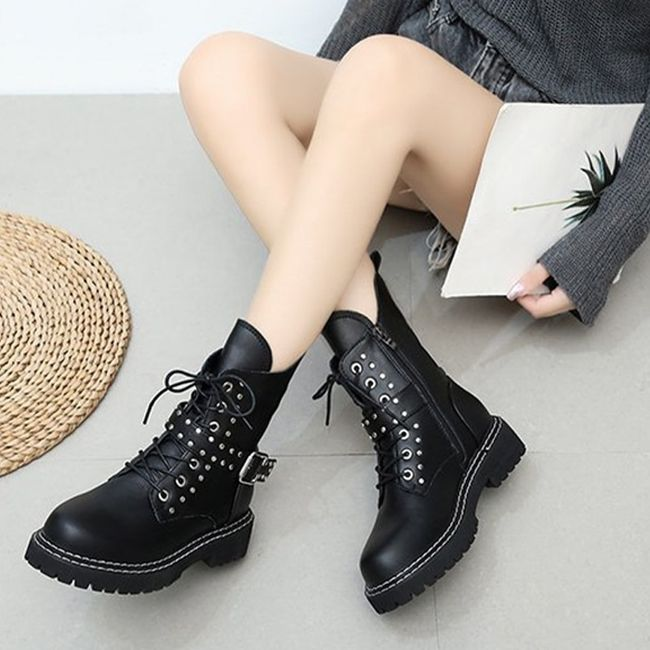 Damskie buty do kostki TF9313 1