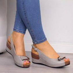 Дамски сандали на клин Inila