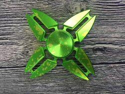 Originálně barvený a tvarovaný Fidget spinner - 4 barvy