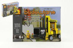 Stavebnica Dromader Auto Vysokozdvižný Vozík 29501 206ks v krabici 25,5x18,5x4,5cm RM_23229501