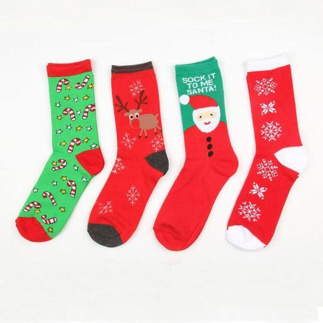 Dámské ponožky X01 1