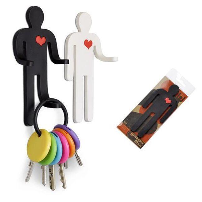 Magnetický věšák na klíče - 2 provedení 1