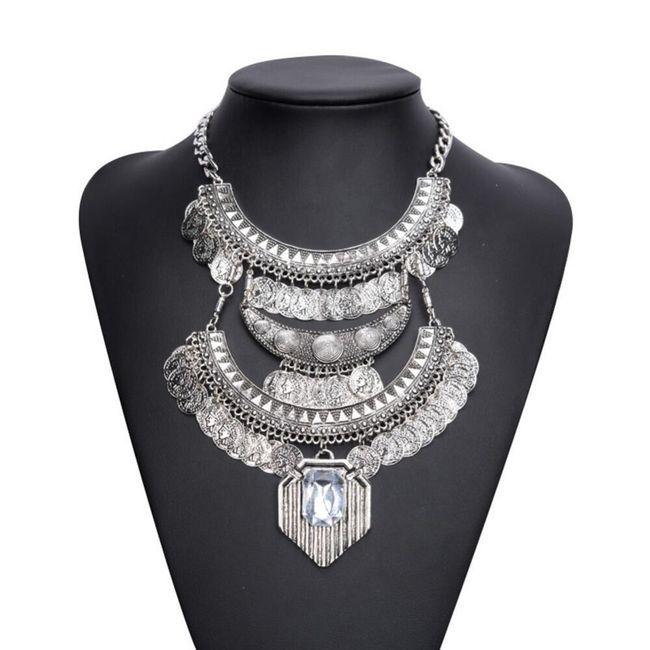 Robustní náhrdelník - 2 barvy 1